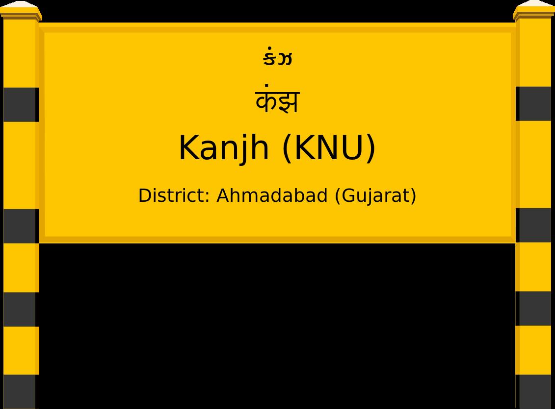 Kanjh (KNU) Railway Station