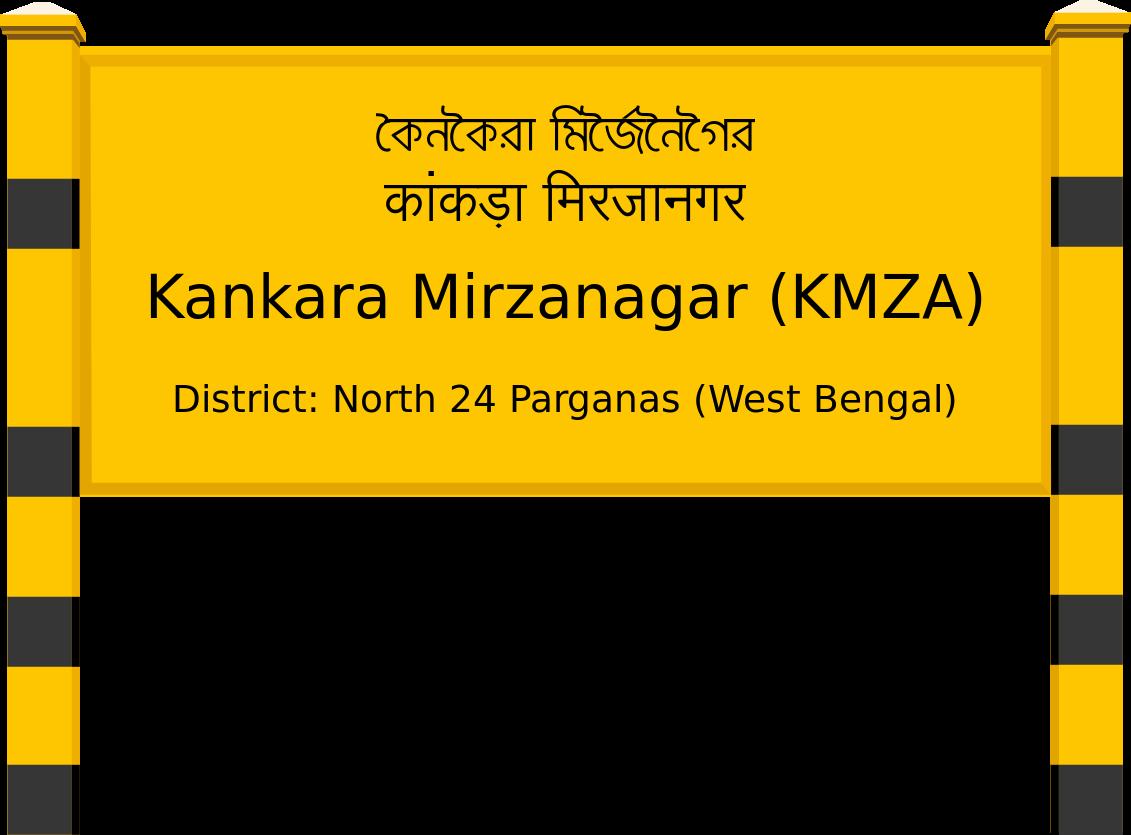 Kankara Mirzanagar (KMZA) Railway Station
