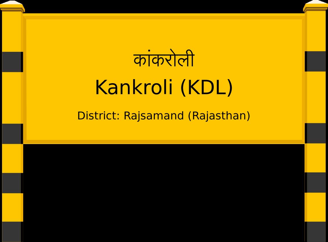 Kankroli (KDL) Railway Station
