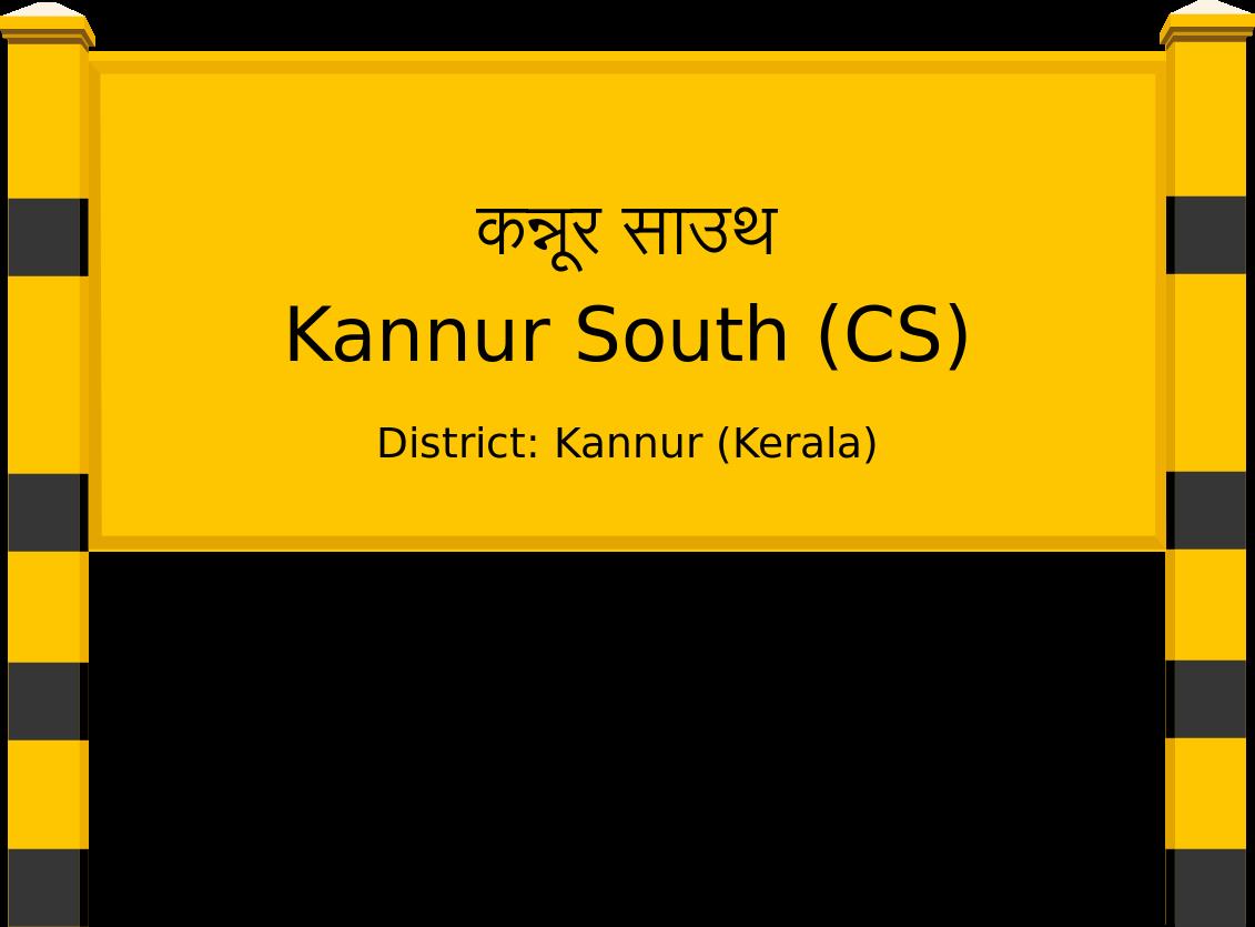 Kannur South (CS) Railway Station