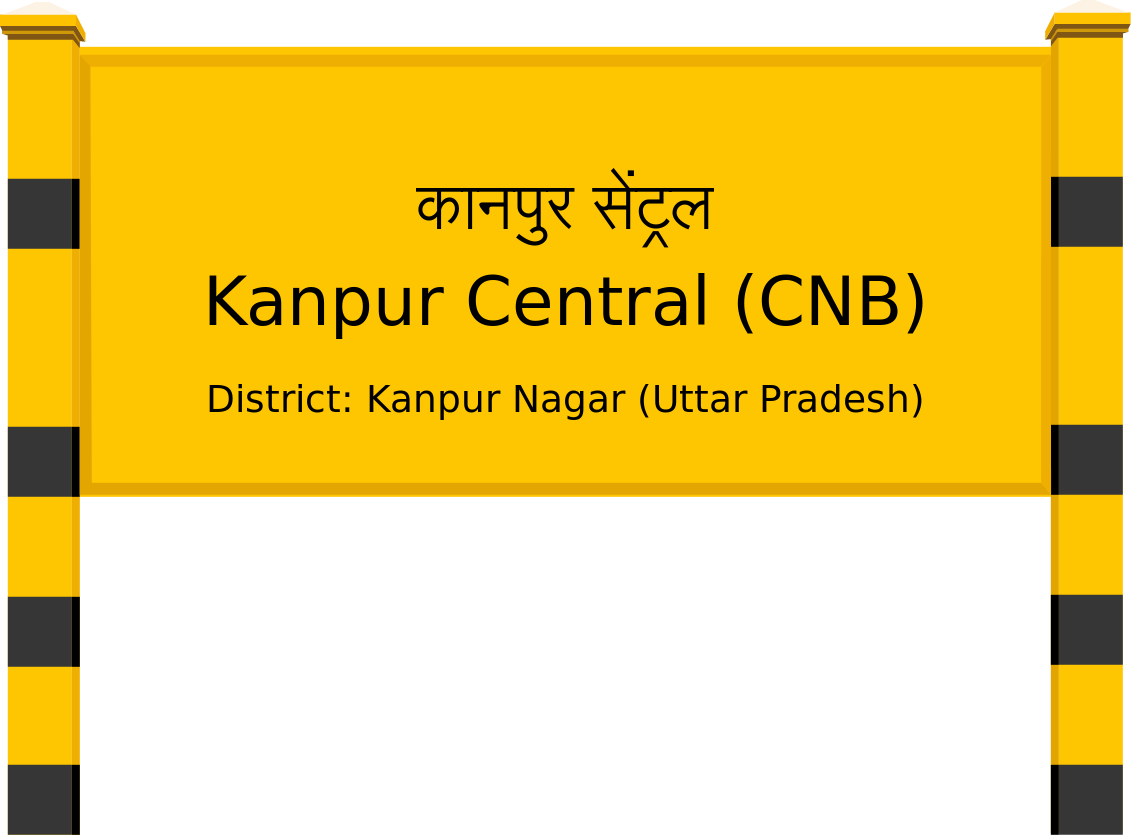 Kanpur Central (CNB) Railway Station