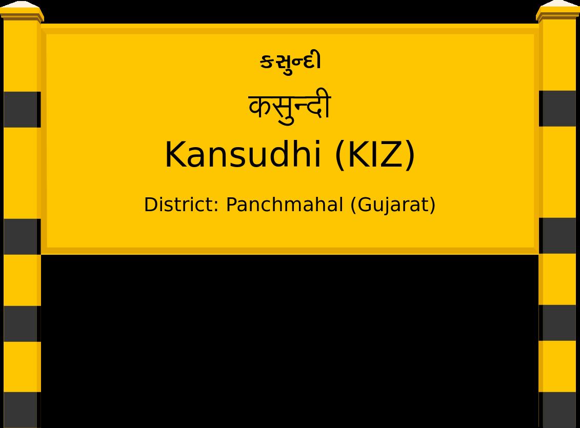 Kansudhi (KIZ) Railway Station