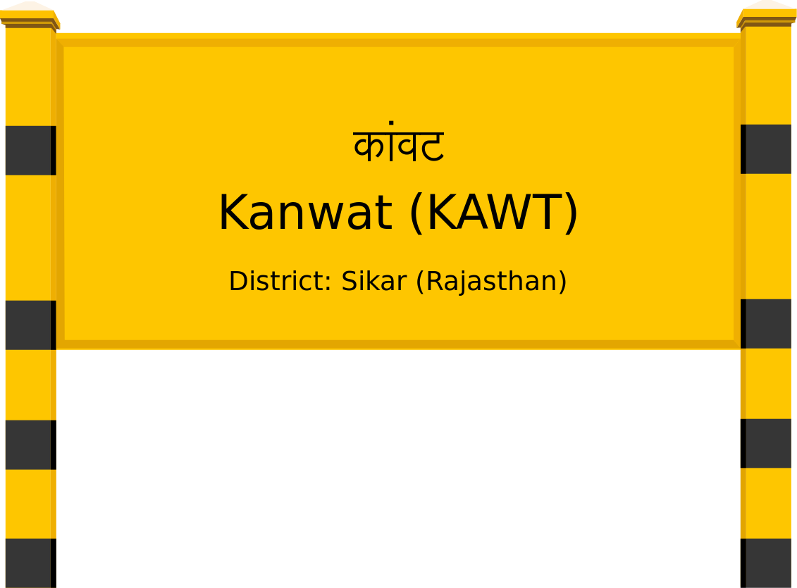Kanwat (KAWT) Railway Station