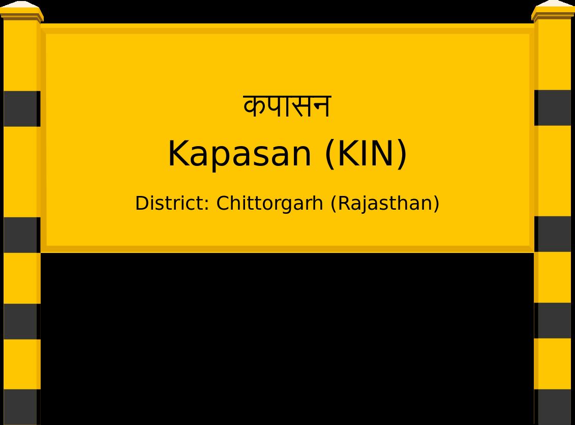 Kapasan (KIN) Railway Station