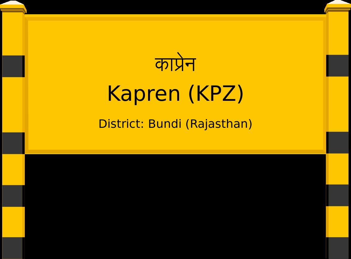 Kapren (KPZ) Railway Station