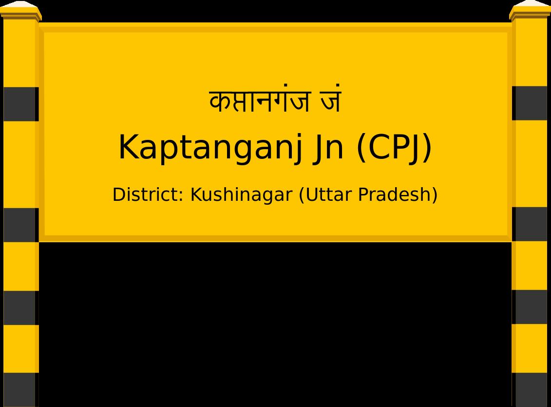 Kaptanganj Jn (CPJ) Railway Station