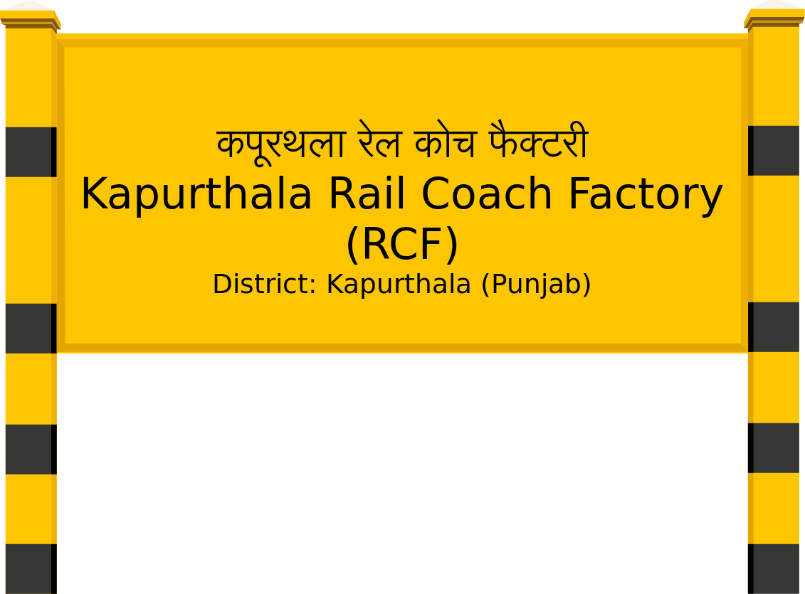 Kapurthala Rail Coach Factory (RCF) Railway Station