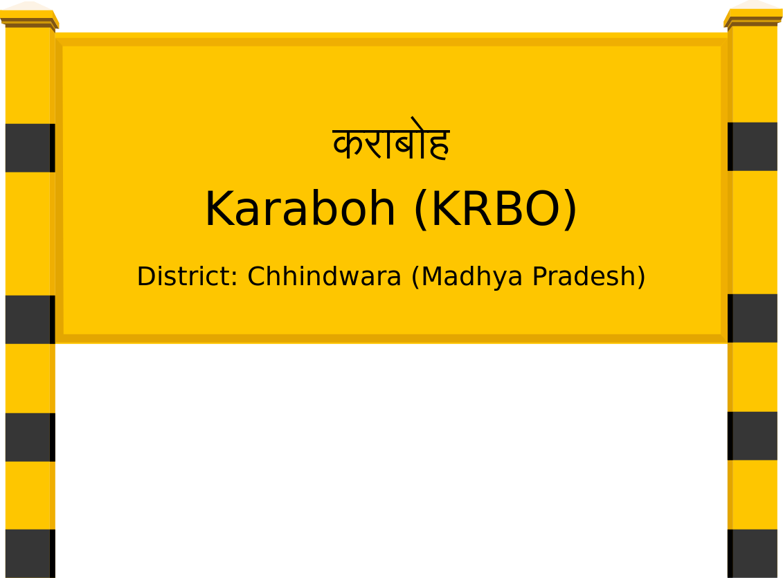 Karaboh (KRBO) Railway Station