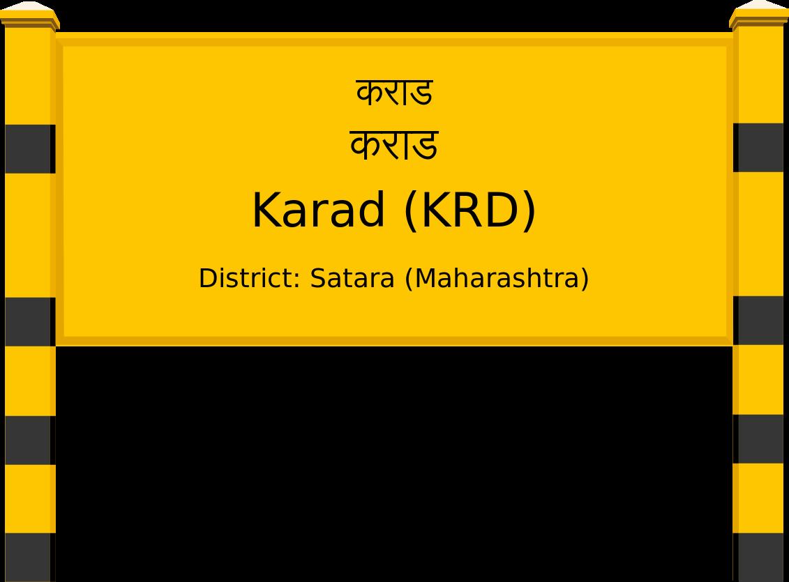 Karad (KRD) Railway Station