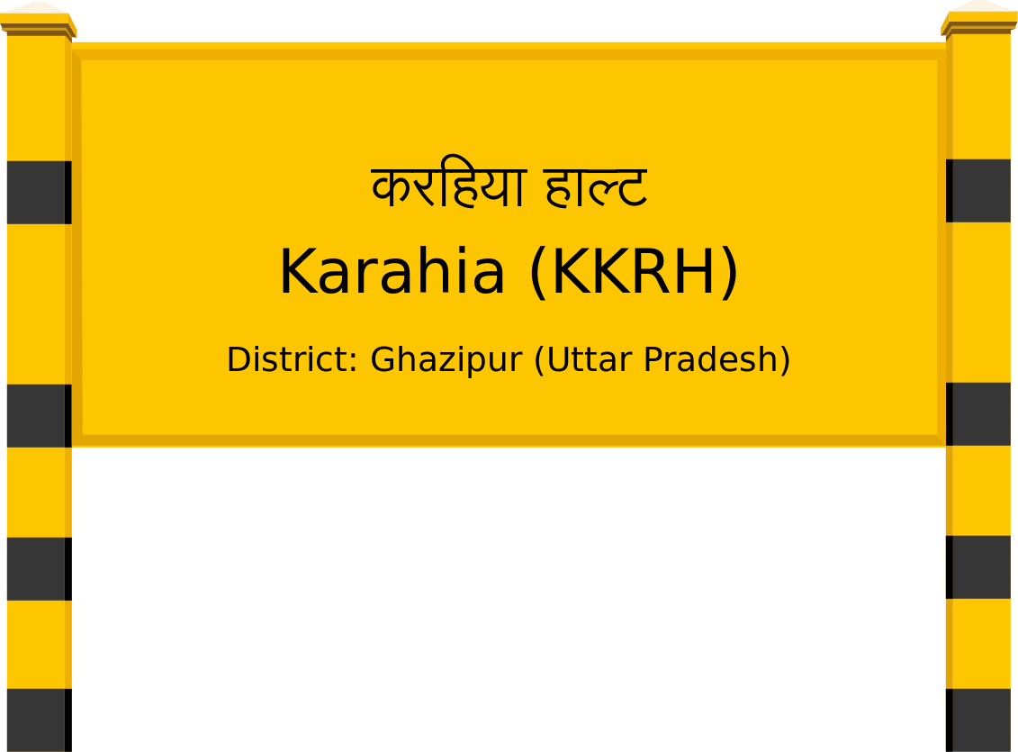 Karahia (KKRH) Railway Station