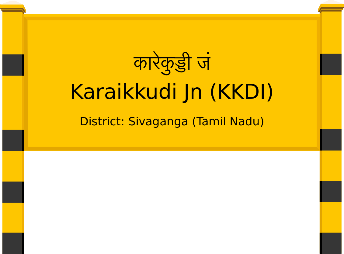 Karaikkudi Jn (KKDI) Railway Station