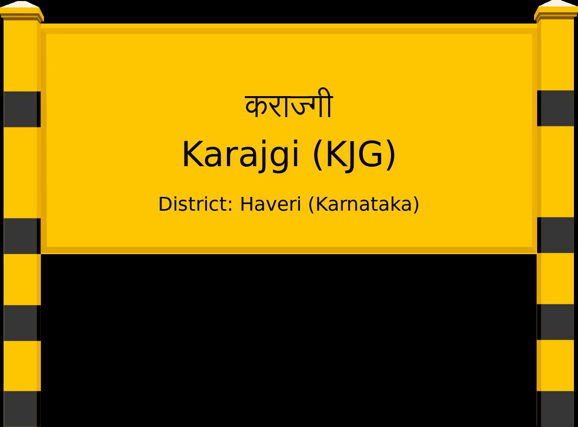 Karajgi (KJG) Railway Station