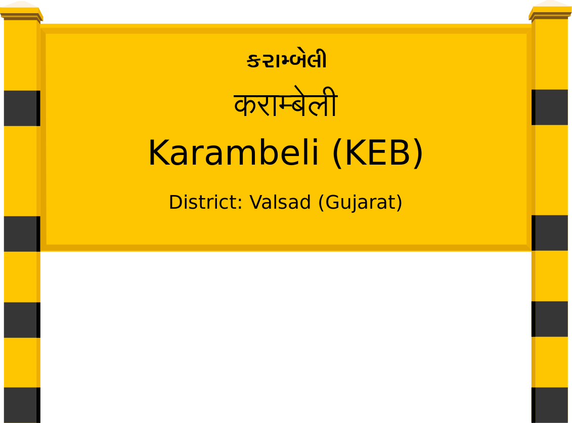 Karambeli (KEB) Railway Station