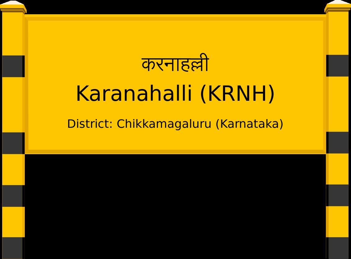Karanahalli (KRNH) Railway Station