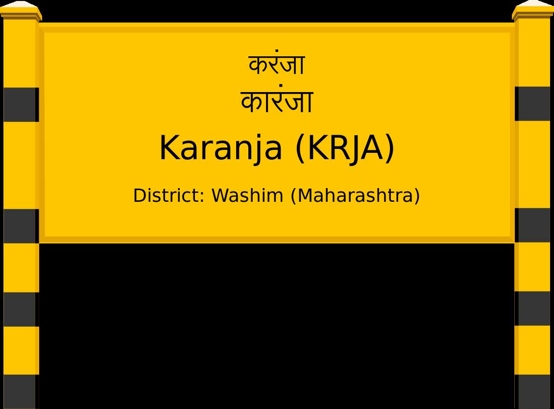 Karanja (KRJA) Railway Station