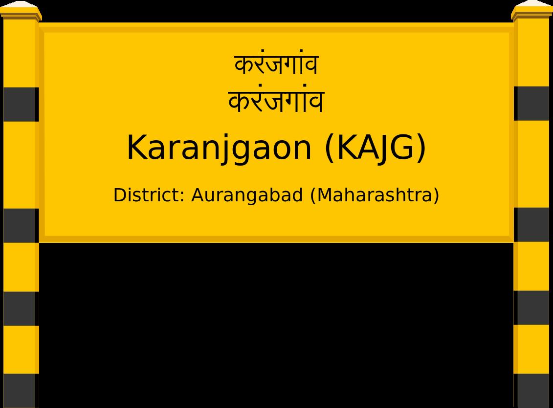 Karanjgaon (KAJG) Railway Station