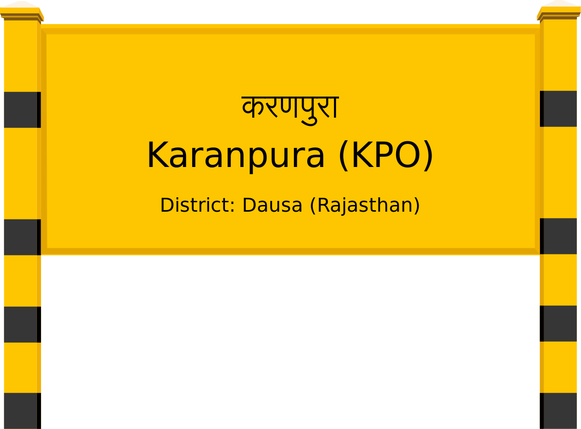 Karanpura (KPO) Railway Station