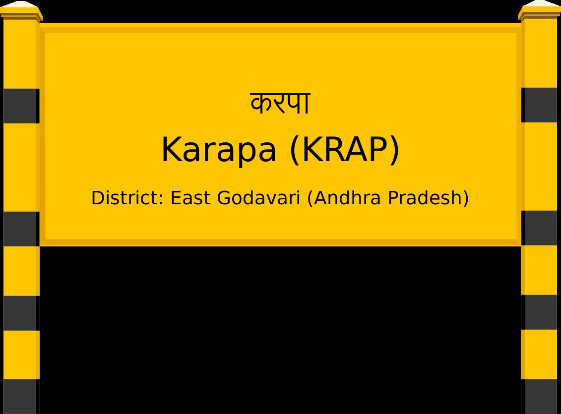 Karapa (KRAP) Railway Station