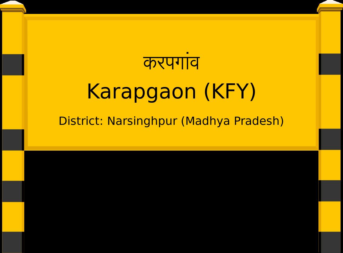 Karapgaon (KFY) Railway Station