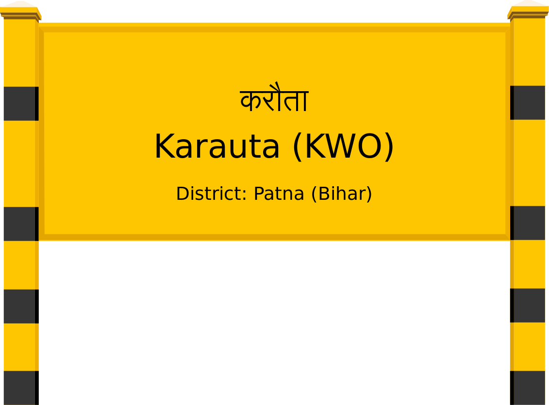 Karauta (KWO) Railway Station