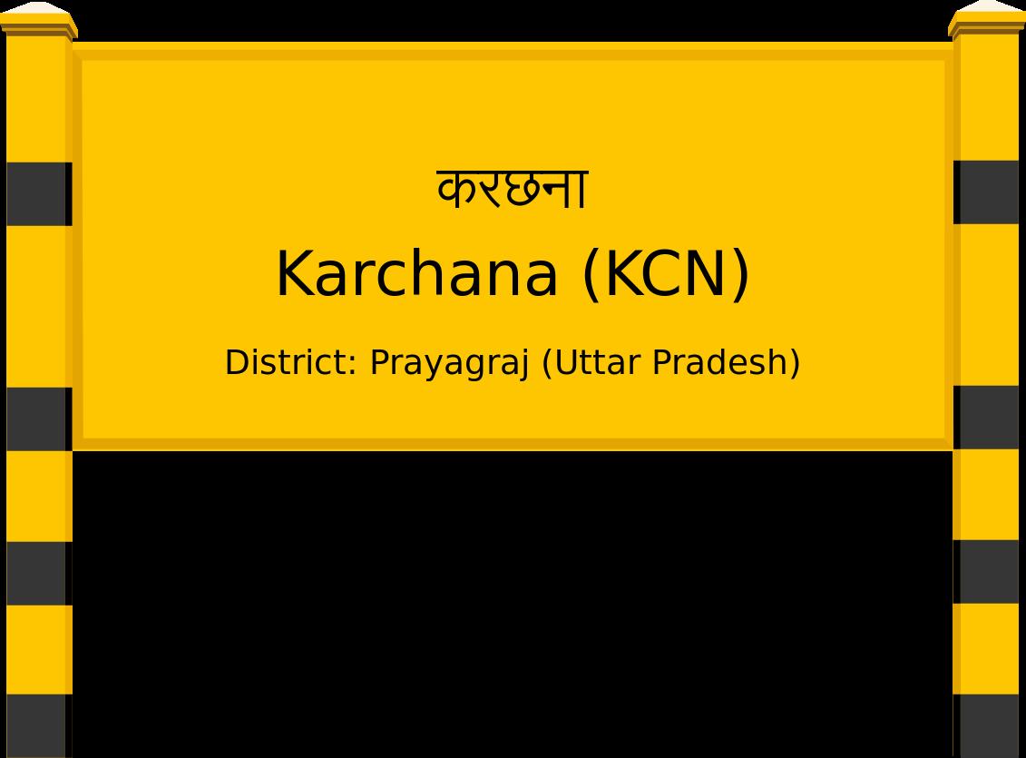 Karchana (KCN) Railway Station