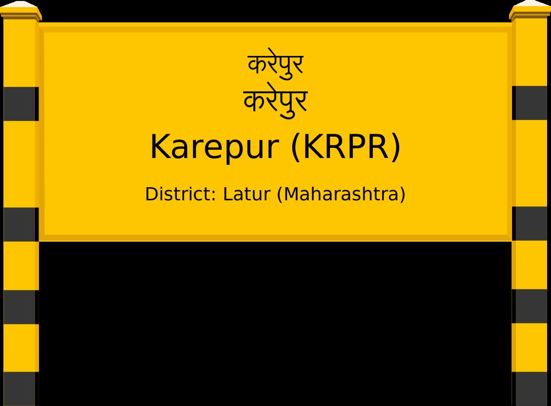 Karepur (KRPR) Railway Station