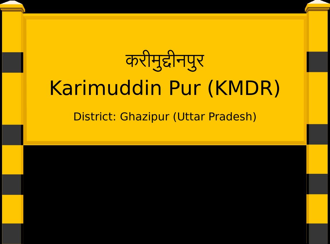 Karimuddin Pur (KMDR) Railway Station