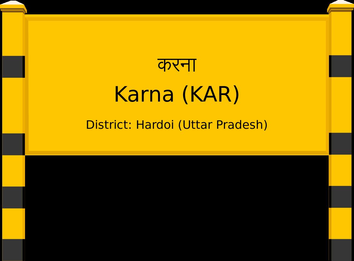 Karna (KAR) Railway Station