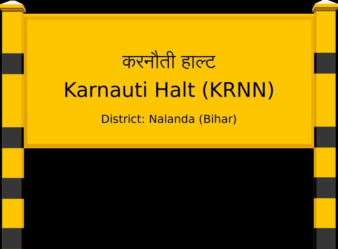 Karnauti Halt (KRNN) Railway Station