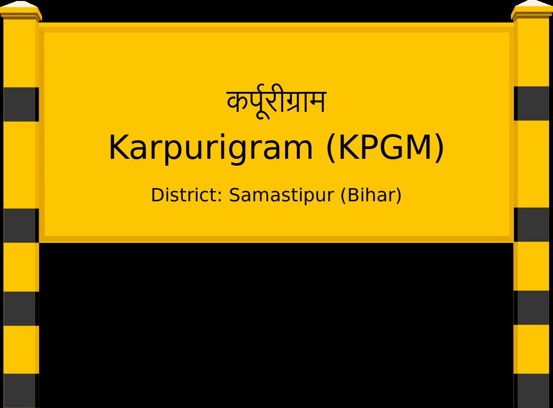 Karpurigram (KPGM) Railway Station