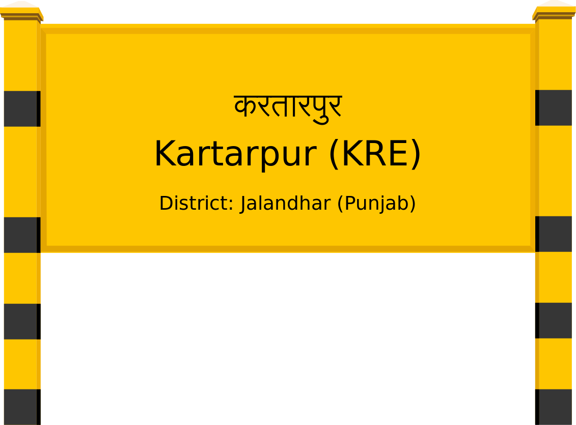 Kartarpur (KRE) Railway Station