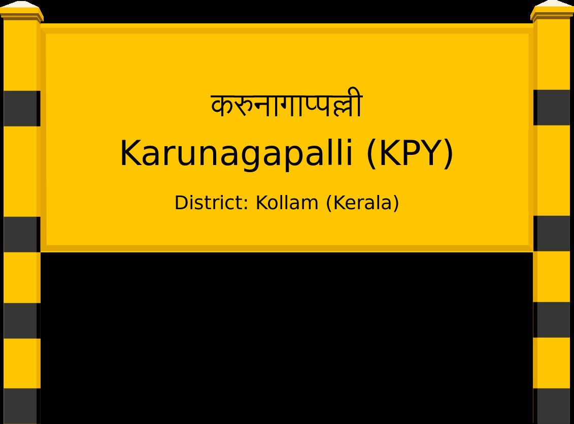 Karunagapalli (KPY) Railway Station