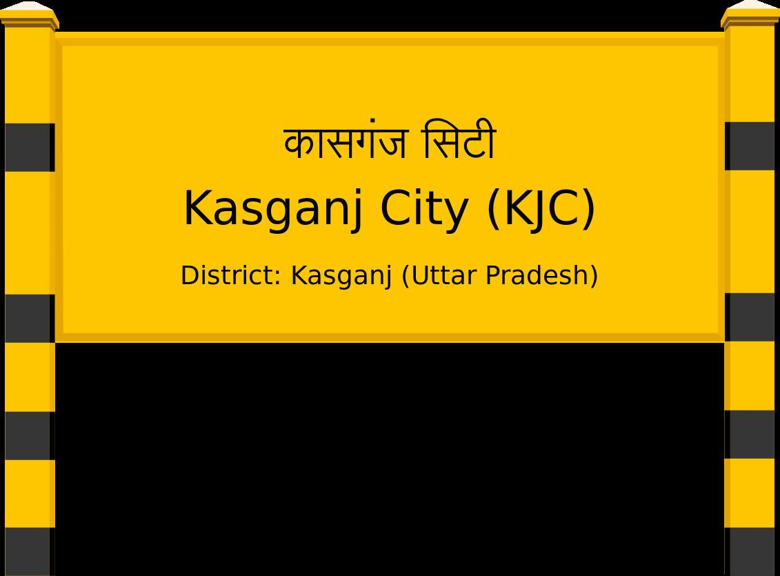 Kasganj City (KJC) Railway Station