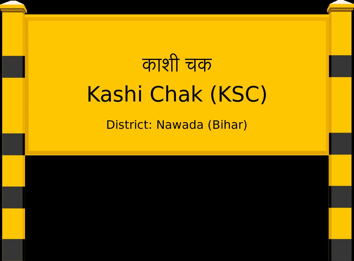 Kashi Chak (KSC) Railway Station
