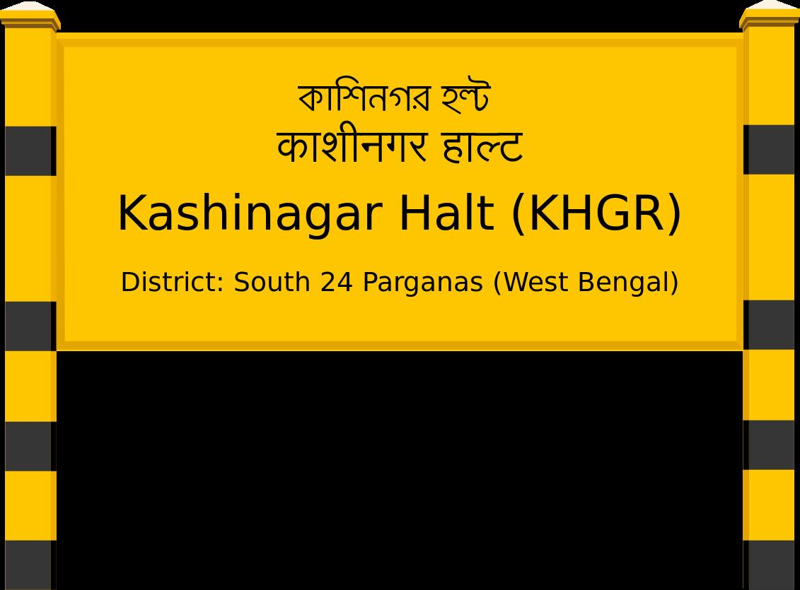 Kashinagar Halt (KHGR) Railway Station