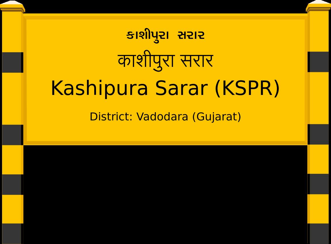 Kashipura Sarar (KSPR) Railway Station