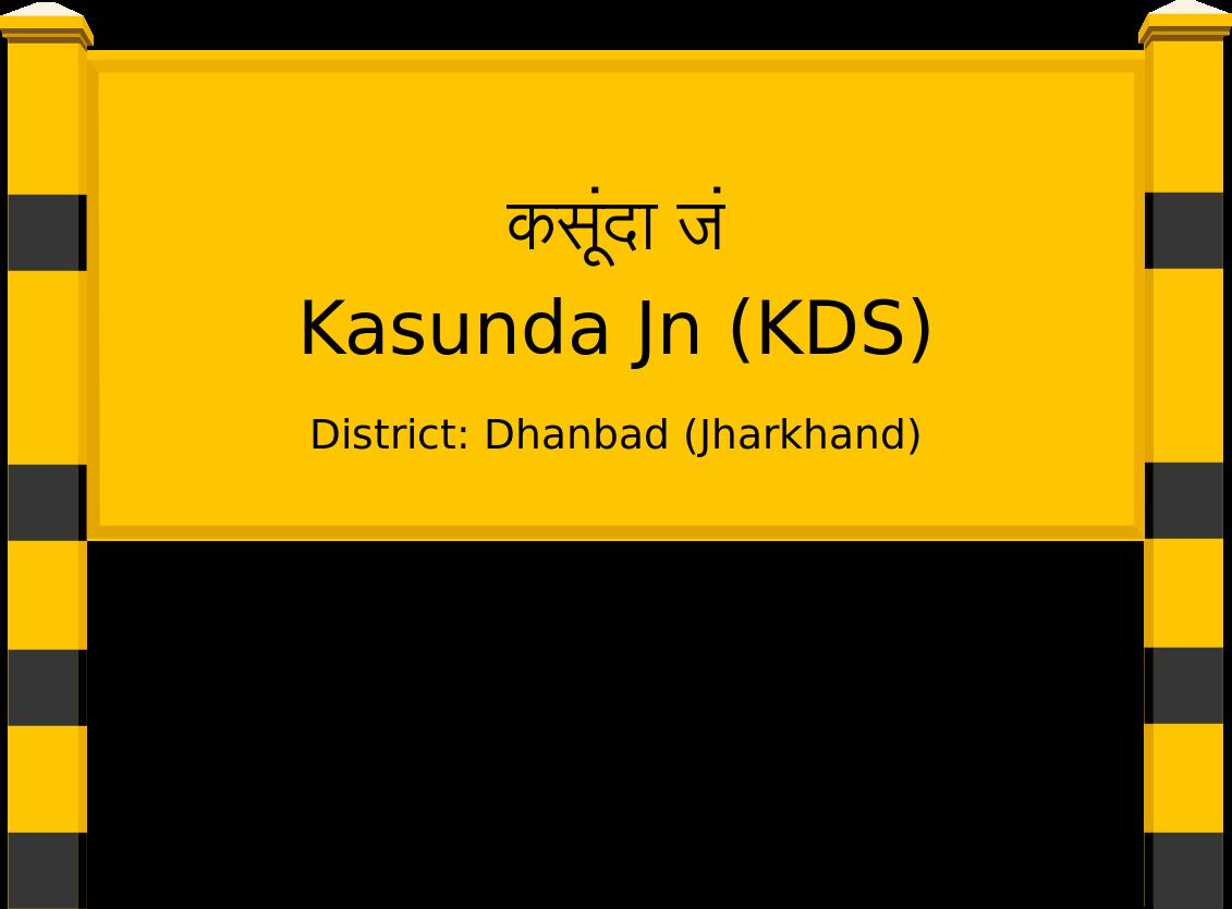 Kasunda Jn (KDS) Railway Station