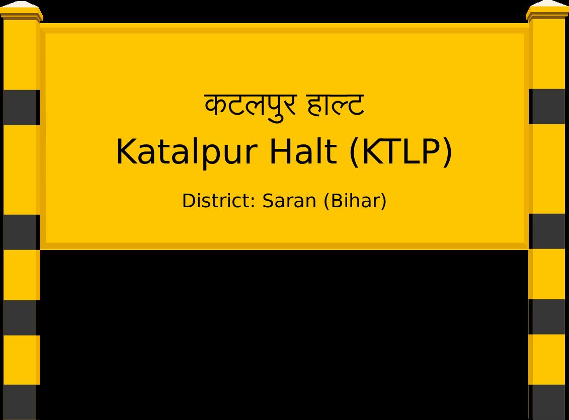 Katalpur Halt (KTLP) Railway Station