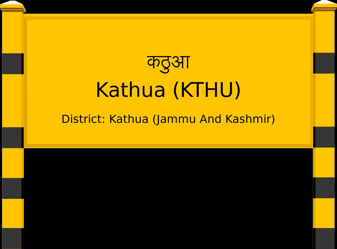 Kathua (KTHU) Railway Station