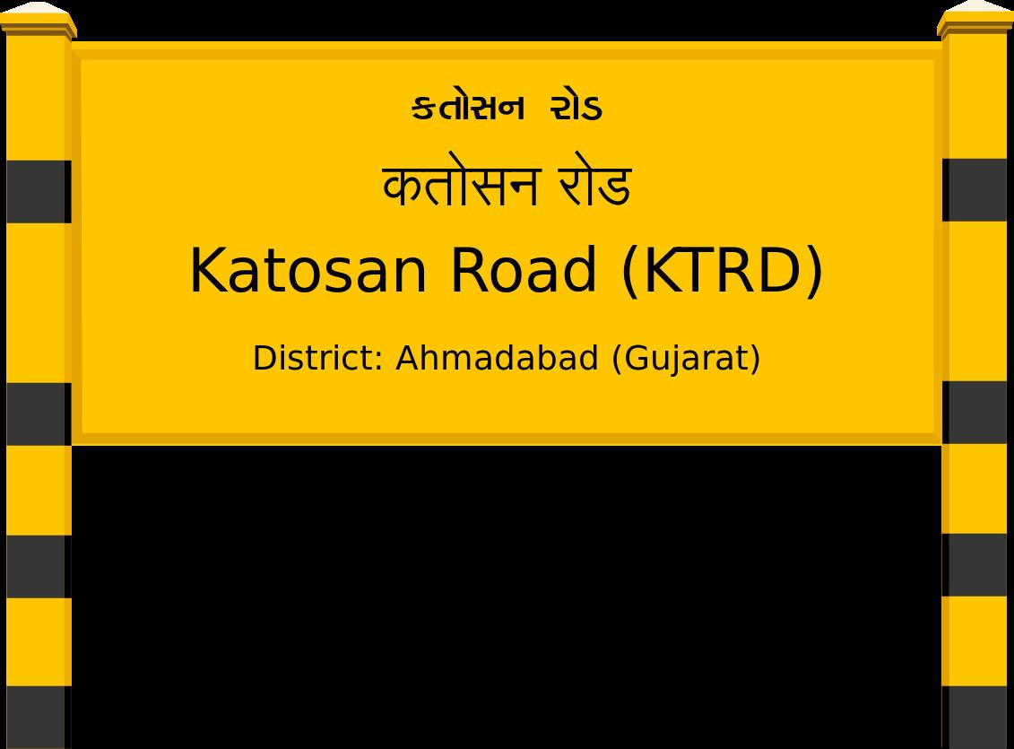 Katosan Road (KTRD) Railway Station