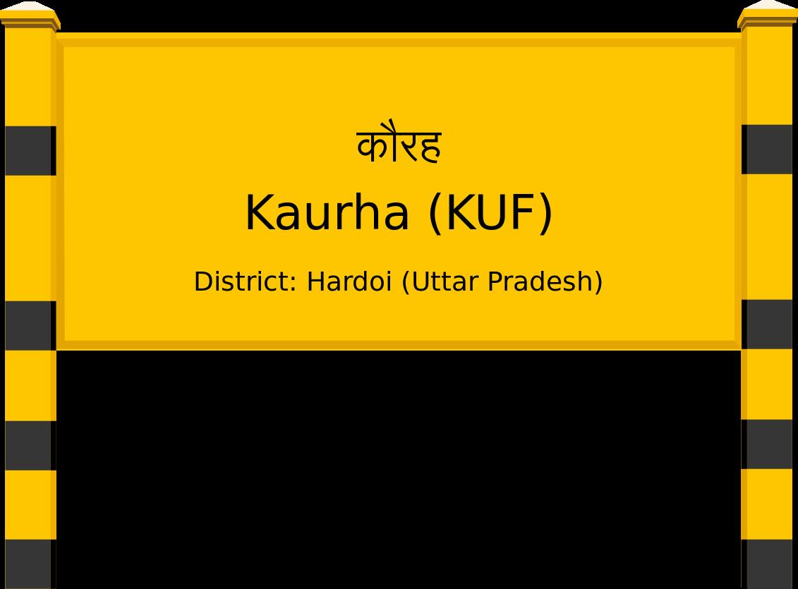 Kaurha (KUF) Railway Station
