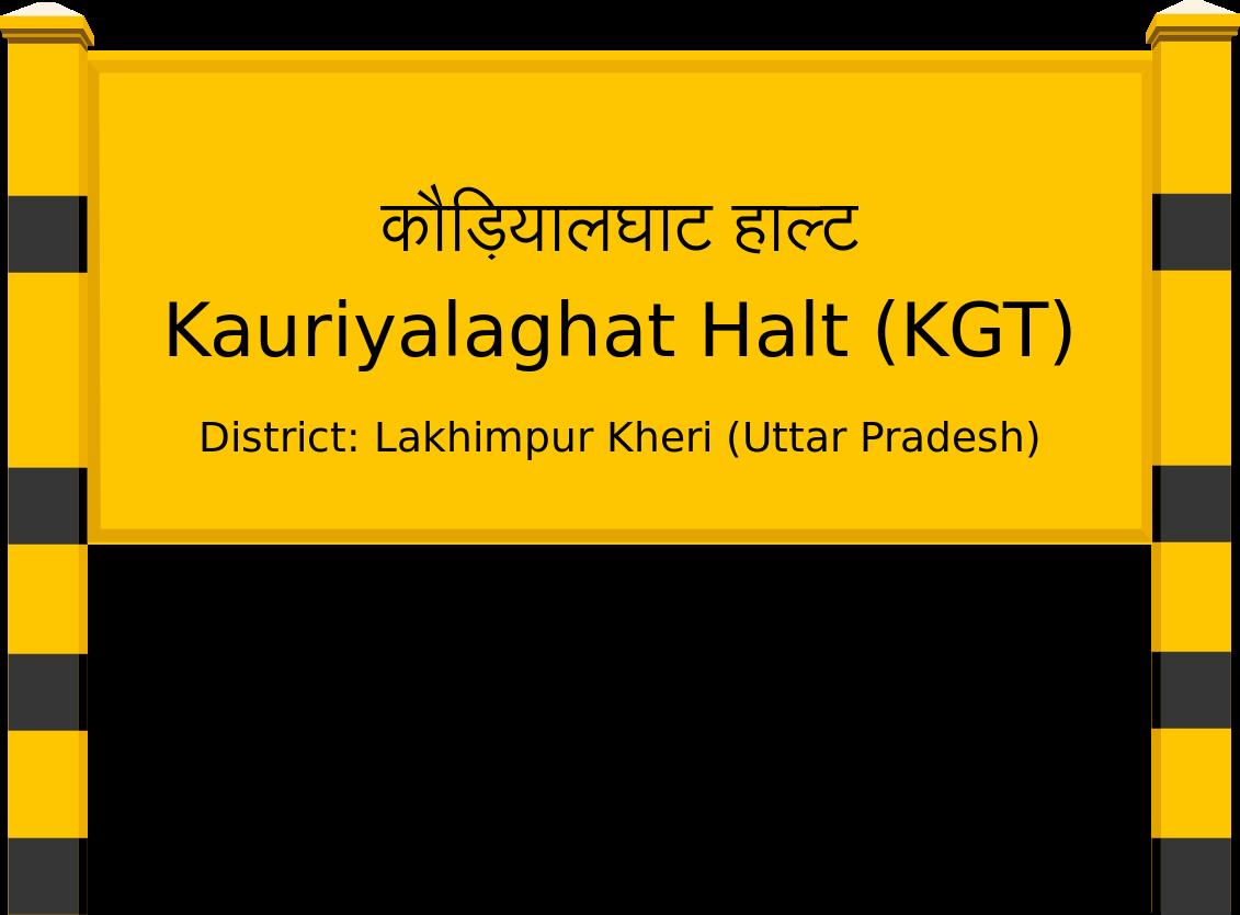 Kauriyalaghat Halt (KGT) Railway Station