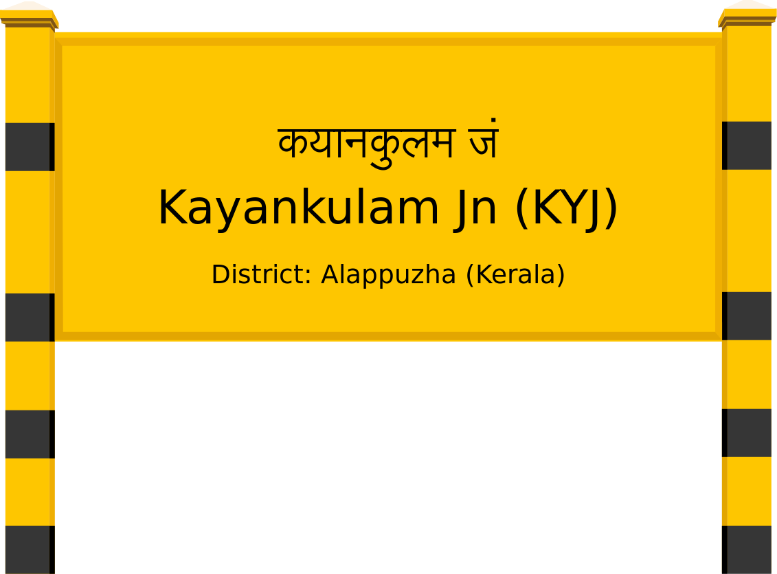 Kayankulam Jn (KYJ) Railway Station