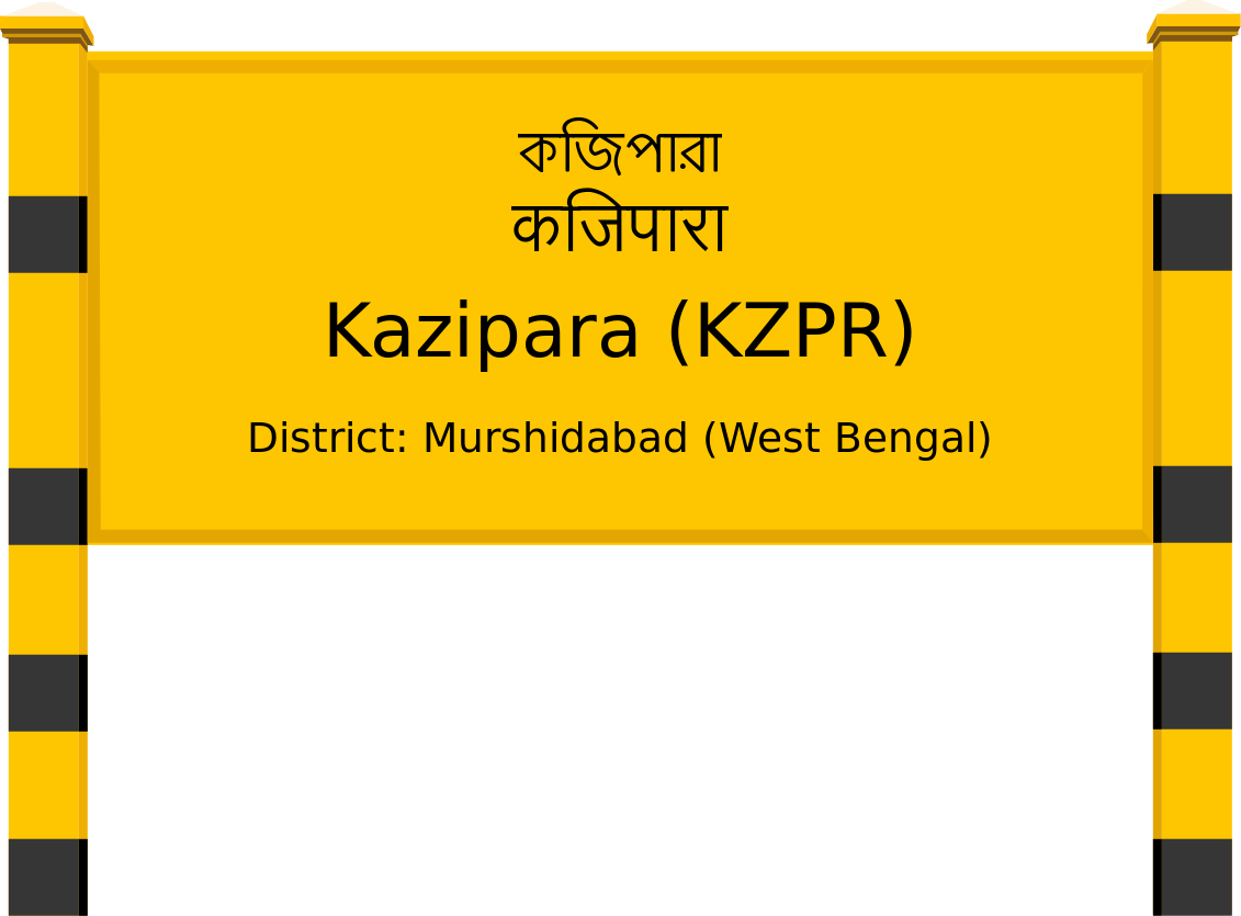 Kazipara (KZPR) Railway Station