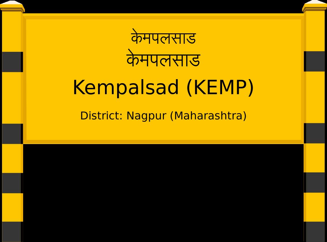 Kempalsad (KEMP) Railway Station