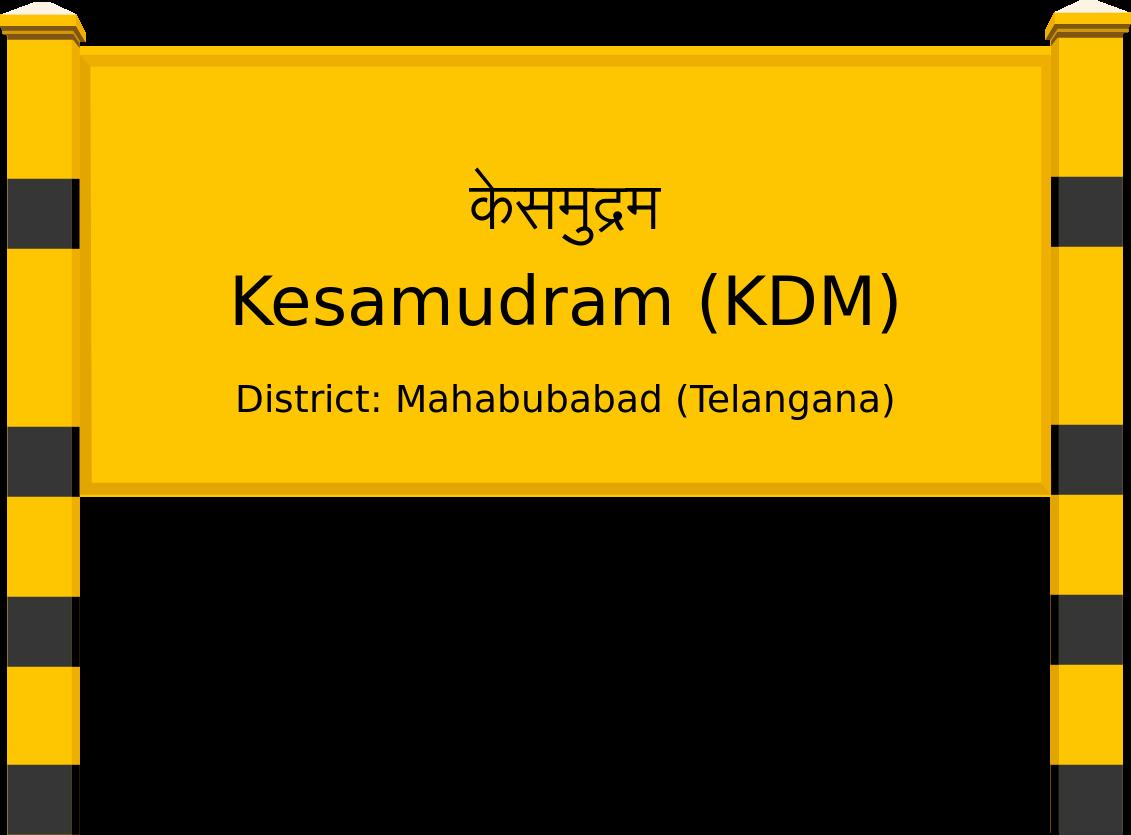 Kesamudram (KDM) Railway Station