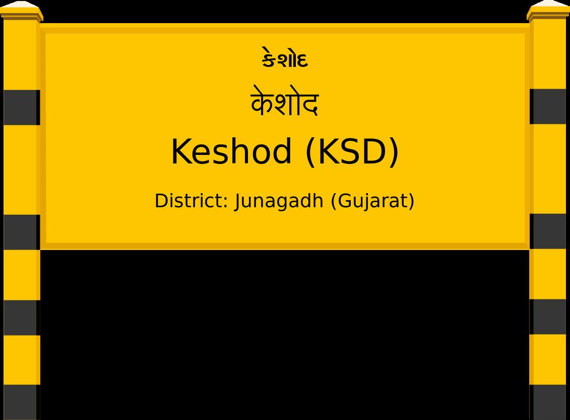 Keshod (KSD) Railway Station