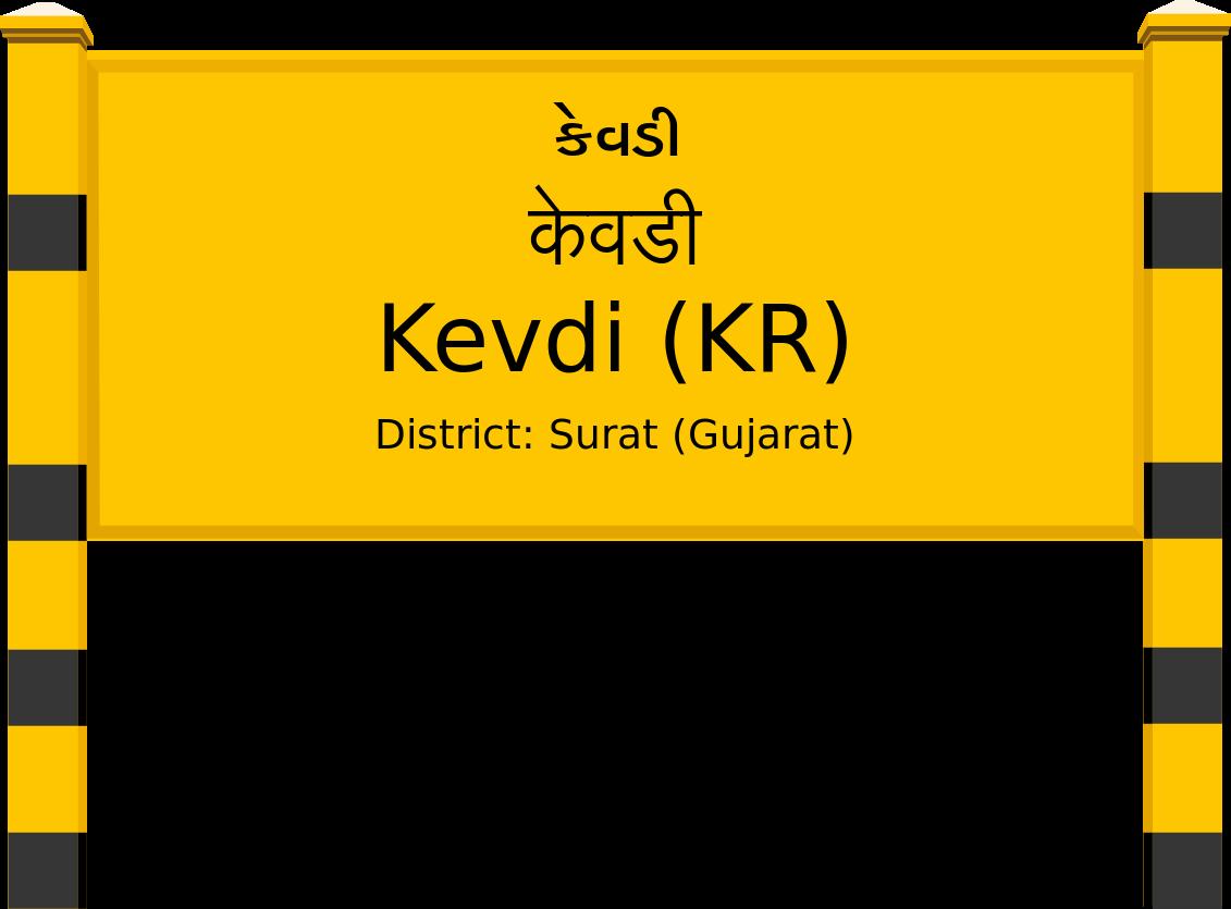 Kevdi (KR) Railway Station