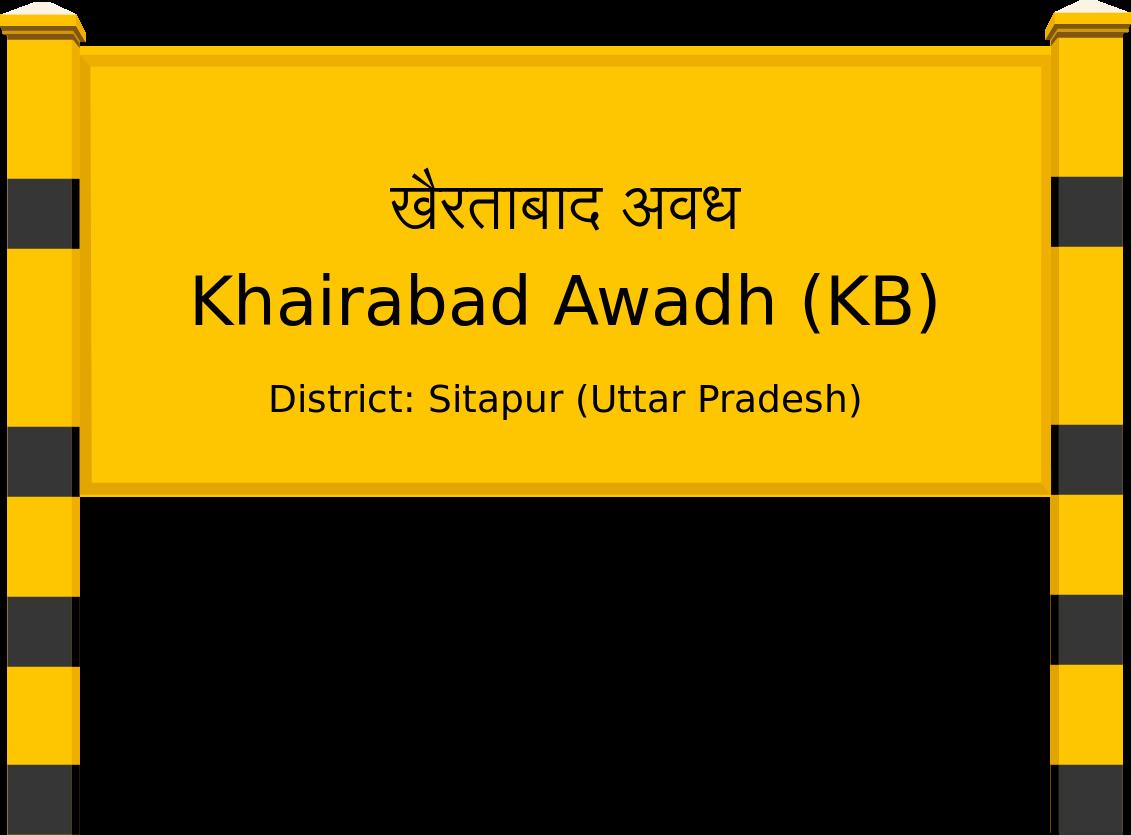 Khairabad Awadh (KB) Railway Station