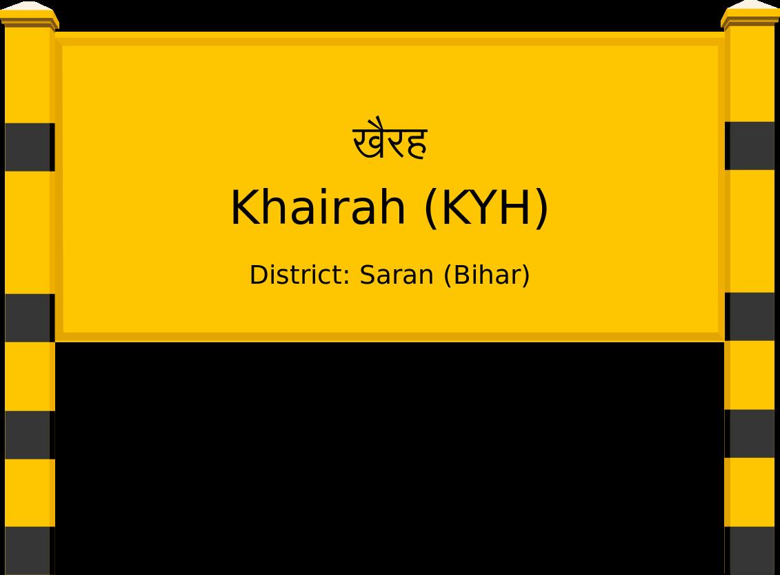 Khairah (KYH) Railway Station